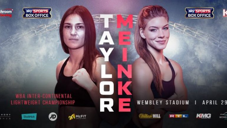 Katie Taylor to fight lightweight title eliminator on April 29