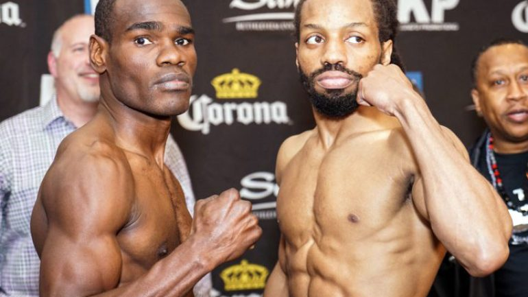 Edner Cherry and Omar Douglas meet at the crossroad