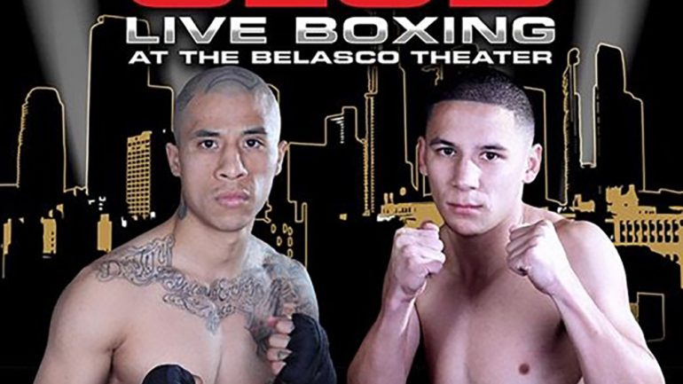 Ivan Delgado faces a real test in Charles Huerta