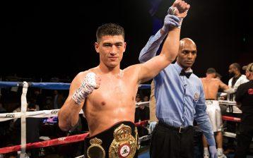 WBA light heavyweight titlist Dmitry Bivol. Photo by Amanda Westcott/SHOWTIME