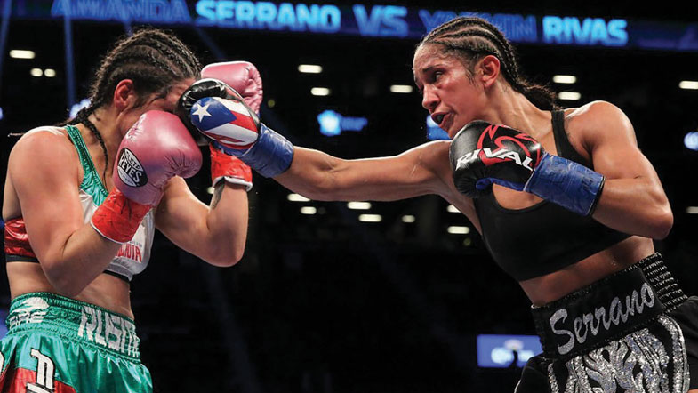 Women S Boxing The Ring