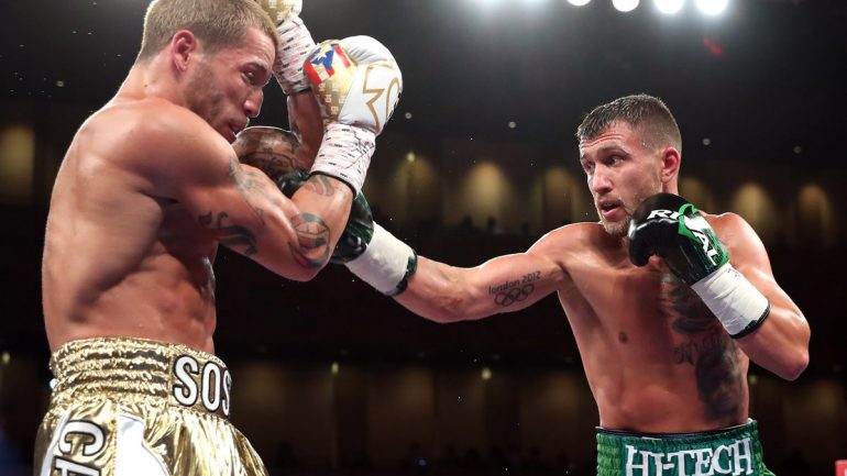 Lomachenko delivered impressive ratings on Saturday on HBO