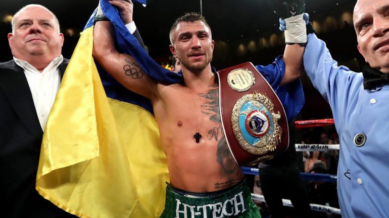 Lomachenko dominates Sosa, seeks future fights with Garcia, Crawford