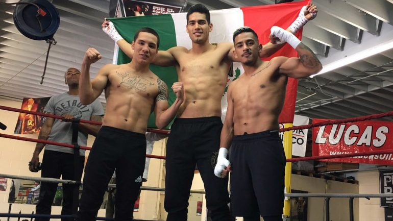 'Three Amigos' – Valdez, Ramirez and Magdaleno – are set for PPV showcase