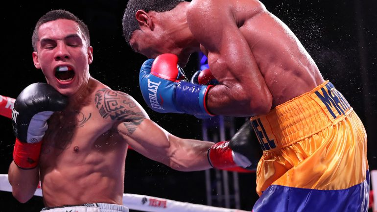 Oscar Valdez impresses in first gut check vs. Miguel Marriaga
