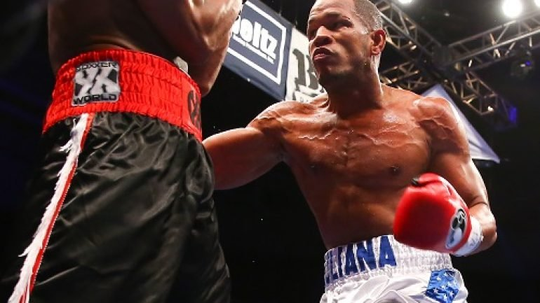 Sullivan Barrera: 'I just want to show that I am the best.'