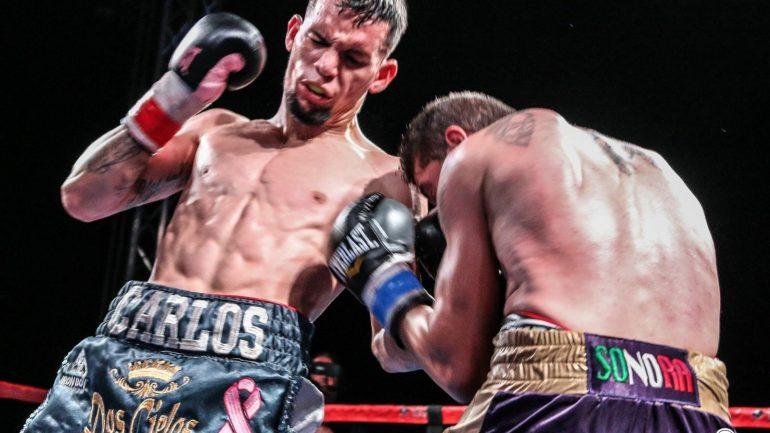 Carlos Castro dominates Juan Palacios to unanimous decision