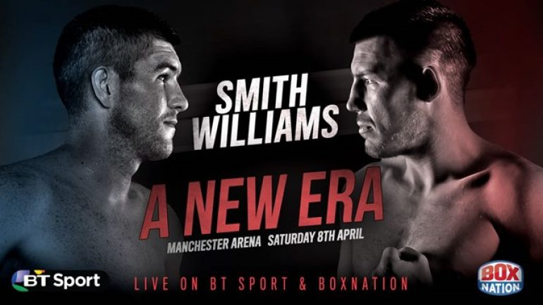 Liam Smith stops Liam Williams on cuts in nine