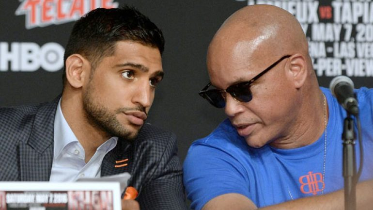 Amir Khan seeks 'legend' status by beating Terence Crawford, Kell Brook 'a four-five round job'