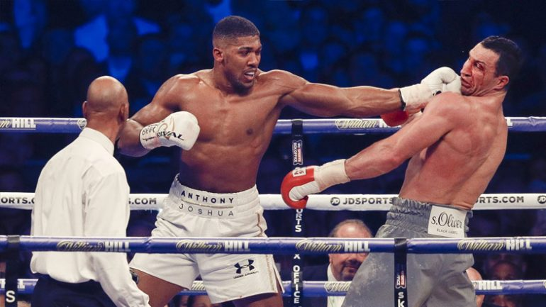 Anthony Joshua awaits Klitschko decision