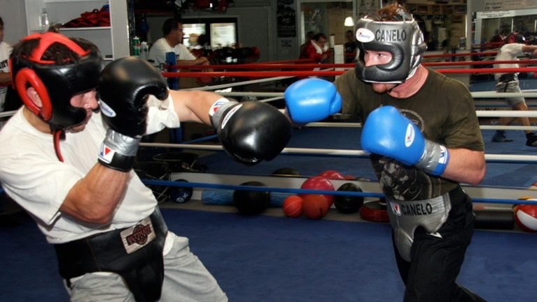 Gym Notes classics: when Canelo and Gennady Golovkin sparred