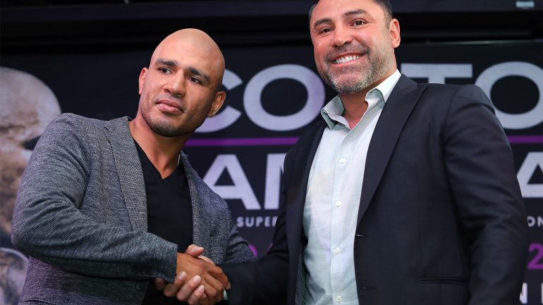 Miguel Cotto signs multi-fight deal with Golden Boy