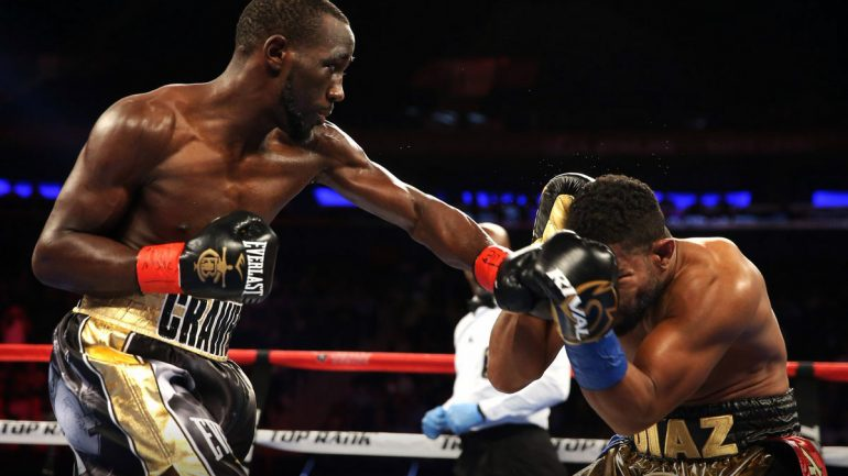 Terence Crawford breaks Felix Diaz down to 10th-round stoppage