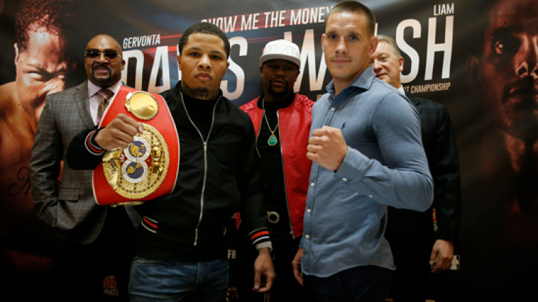 Liam Walsh looking to fulfill destiny against Gervonta Davis