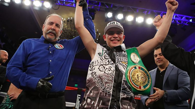 Diego De La Hoya is determined to undo disappointments of past year