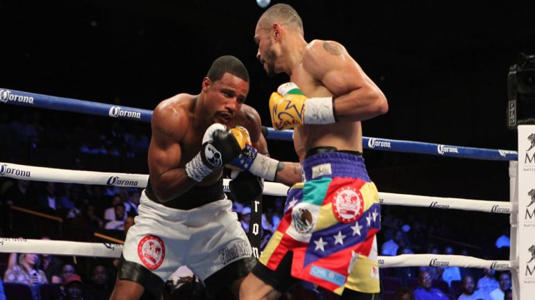 Andre Dirrell beats Jose Uzcategui by eight-round disqualification