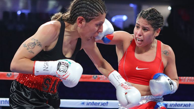 Early results: Olympic bronze medalist Marlen Esparza wins by decision