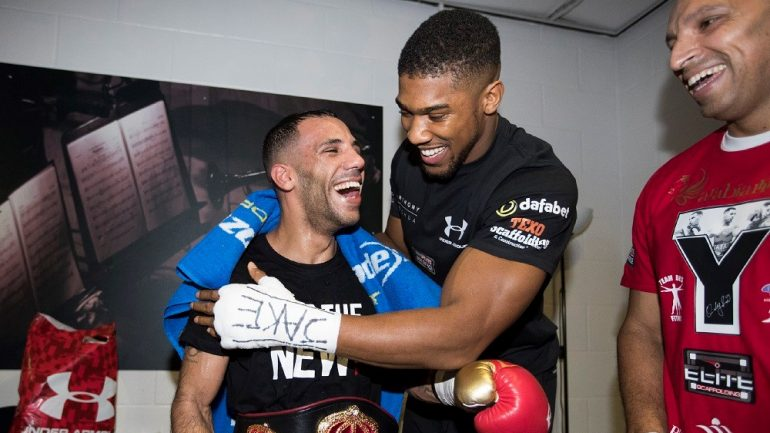 Kal Yafai inspired by Anthony Joshua triumph
