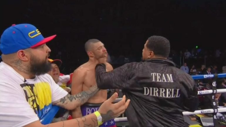 Andre Dirrell's uncle wanted on assault charges