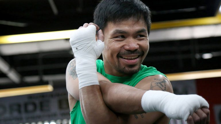 Manny Pacquiao says 'negotiations' are underway to fight Vasyl Lomachenko