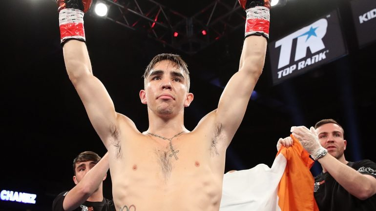 Michael Conlan stops Alfredo Chanez in three rounds