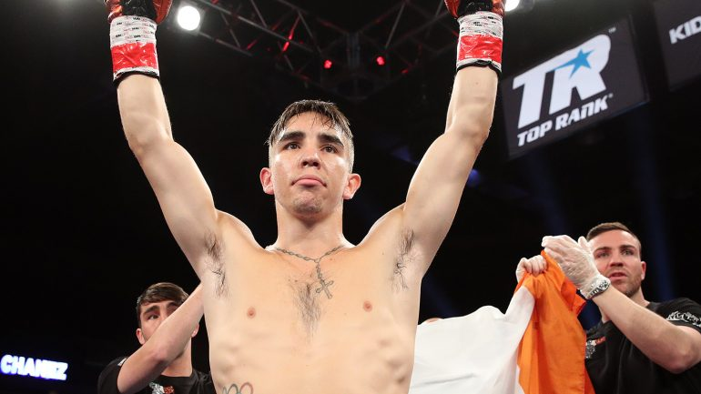 Michael Conlan hopes to follow in Miguel Cotto's steps with MSG holiday tradition