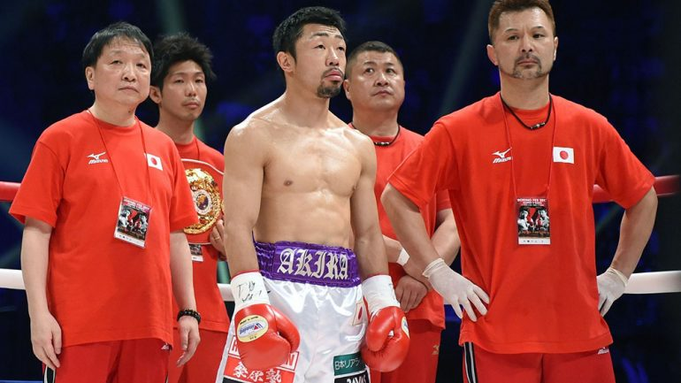 Akira Yaegashi: 'My motivation is to be champion in the fourth weight class'