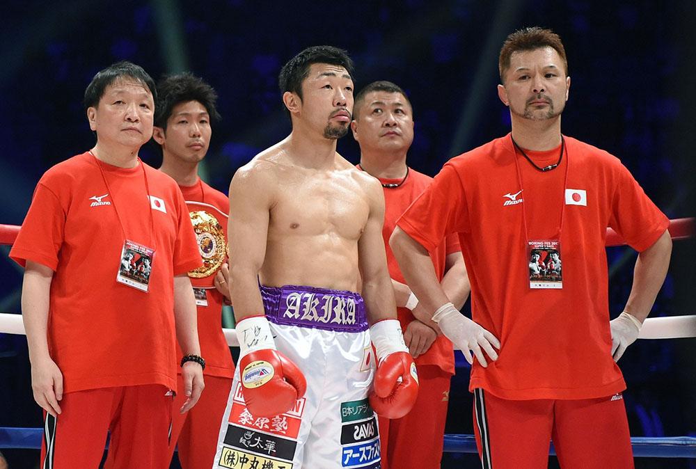 Milan Melindo vs Akira Yaegashi photo by Naoki Fukuda 03 - Three-division beltholder Akira Yaegashi retires