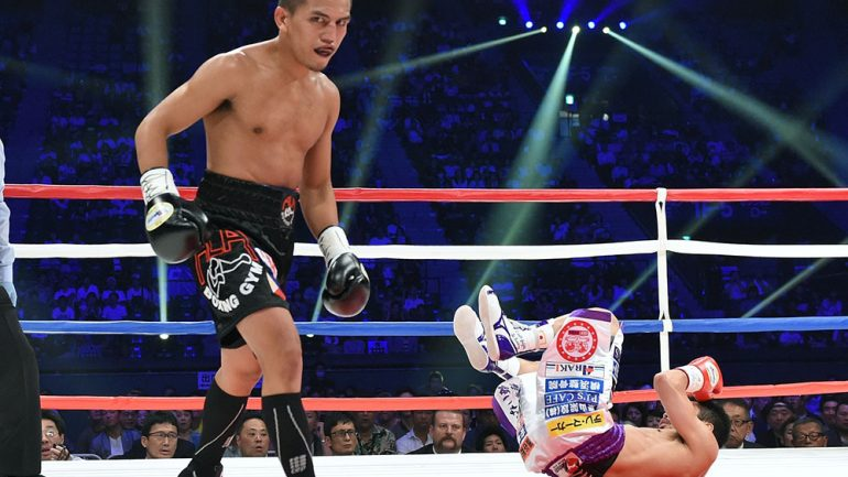 After long break, Milan Melindo eager to win another world title