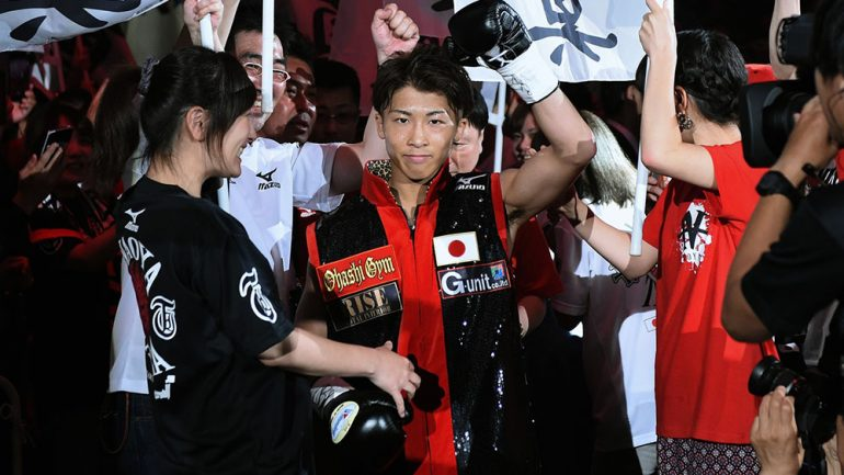 Naoya Inoue: 'I think I will move up to bantamweight in 2018'