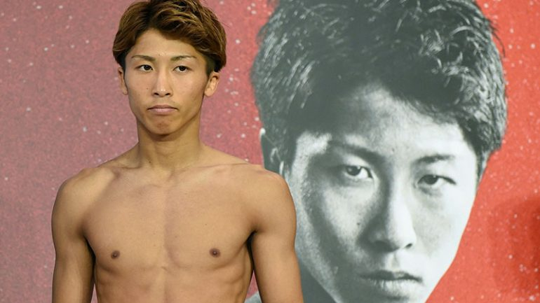 Naoya Inoue carries father's dreams and the hopes of Japanese boxing into U.S. debut
