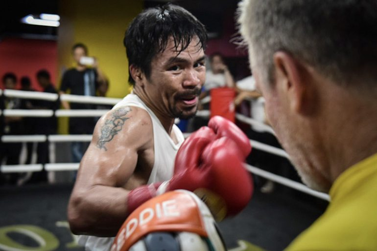 manny pacquiao lucas matthysse agree to fight july 8 in malaysia