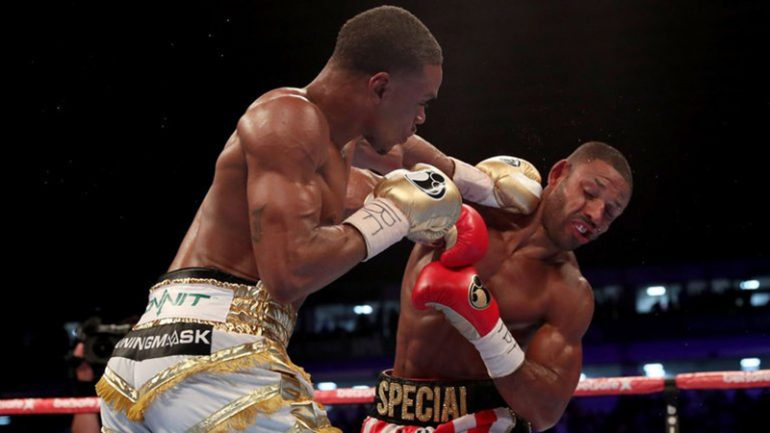 Errol Spence proves he's 'the truth' by stopping gallant Kell Brook