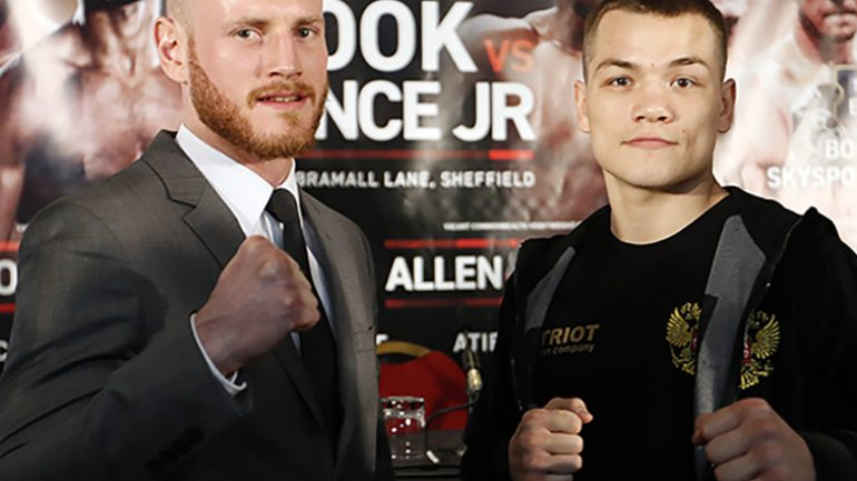 Showtime to live stream George Groves-Fedor Chudinov title bout