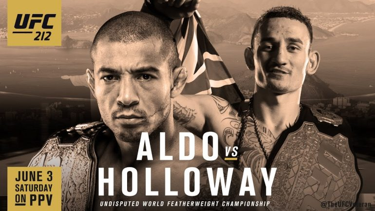 Max Holloway is on a mission at UFC 212