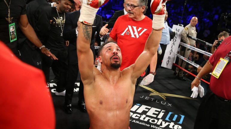 What's the excuse for not liking Andre Ward now?