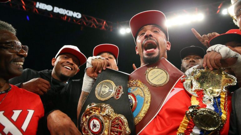 Andre Ward delivers, stops Kovalev in eight, wins RING championship
