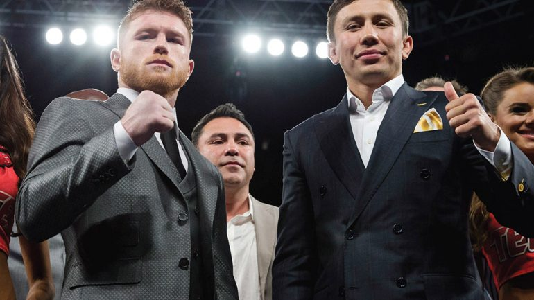 Canelo Alvarez-Gennady Golovkin to be streamed on RingTV.com