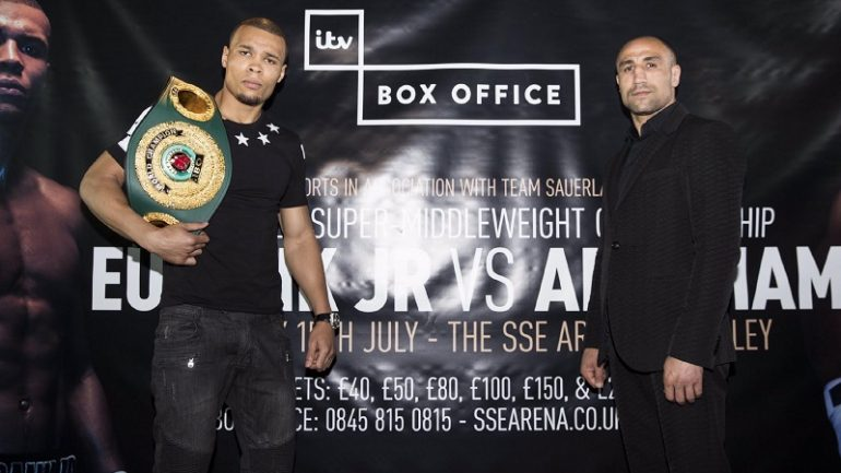 Chris Eubank Jr. and Arthur Abraham to clash on July 15