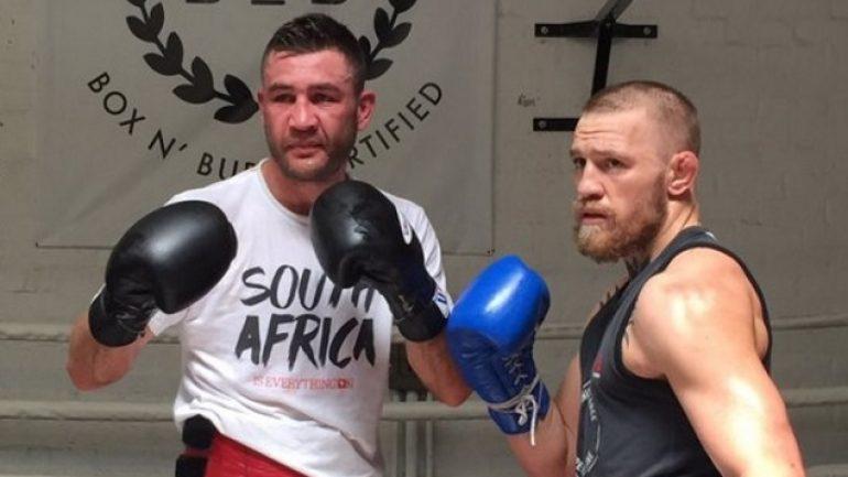 Chris van Heerden talks Conor McGregor, calls out Lamont Peterson