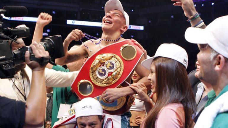 Francisco Rodriguez Jr. continues his jr. bantamweight campaign