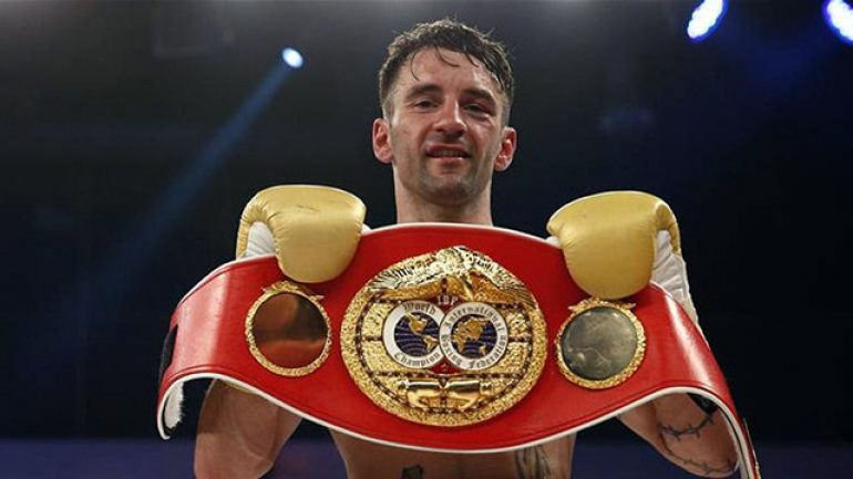 Lee Haskins on facing Ryan Burnett: 'It's a 50-50 fight'