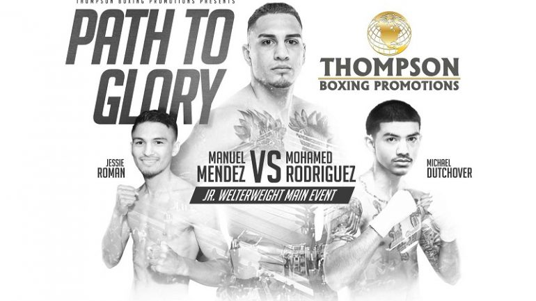 Manuel Mendez to face Mohamed Rodriguez on Friday night
