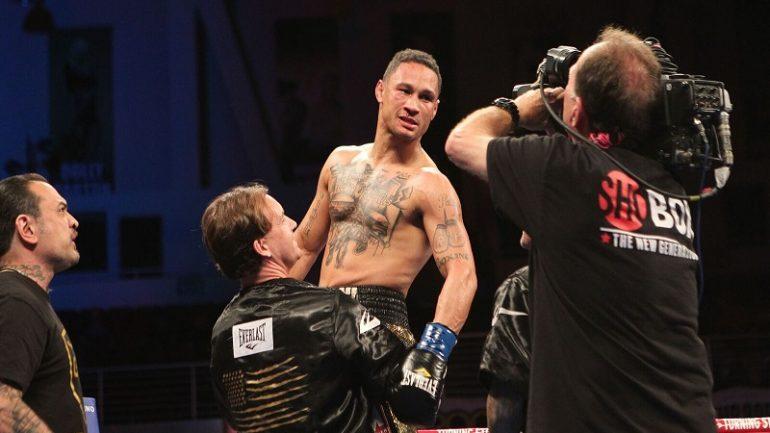 Regis Prograis floors and outpoints Terry Flanagan, Ivan Baranchyk defeats Anthony Yigit