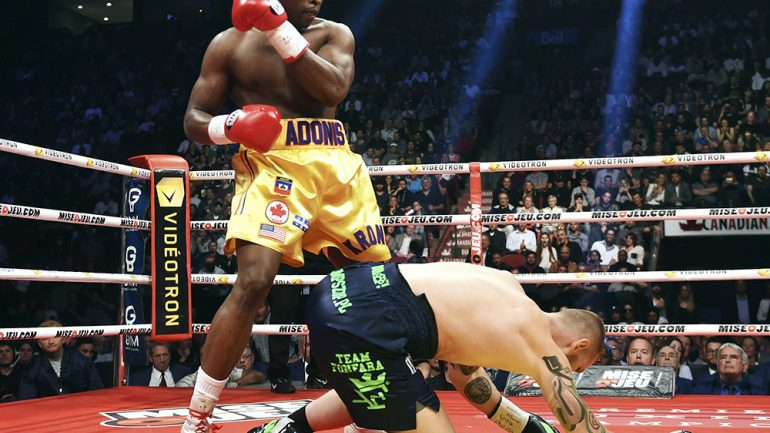 Adonis Stevenson slated to defend 175-pound title against Badou Jack in early '18