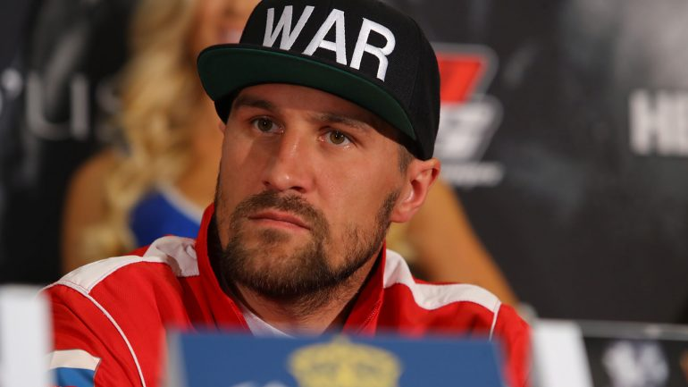 Sergey Kovalev says he's in touch with his inner 'Krusher' for Shabranskyy fight