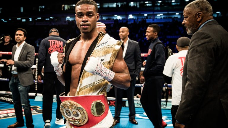 Errol Spence Jr. on Lamont Peterson, the National Anthem and unifying at 147