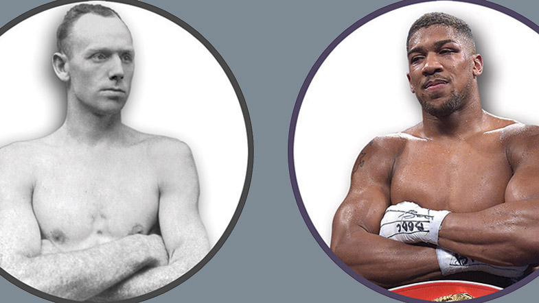 The first and latest U.K. heavweight titleholders span 120 years