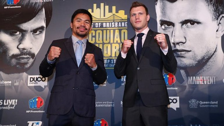 Manny Pacquiao can save uninspiring fight with KO of Jeff Horn
