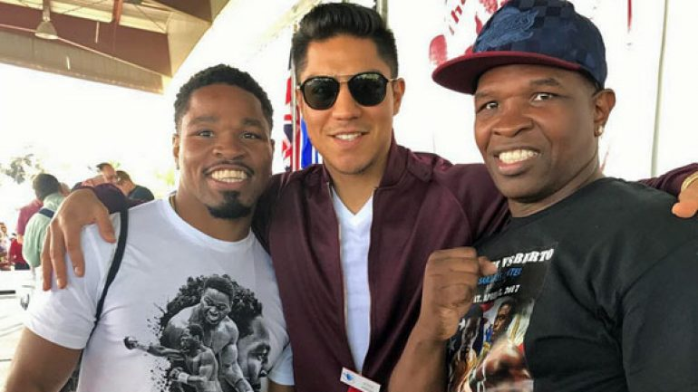 Shawn Porter, Jessie Vargas inspired by first pilgrimage to Hall